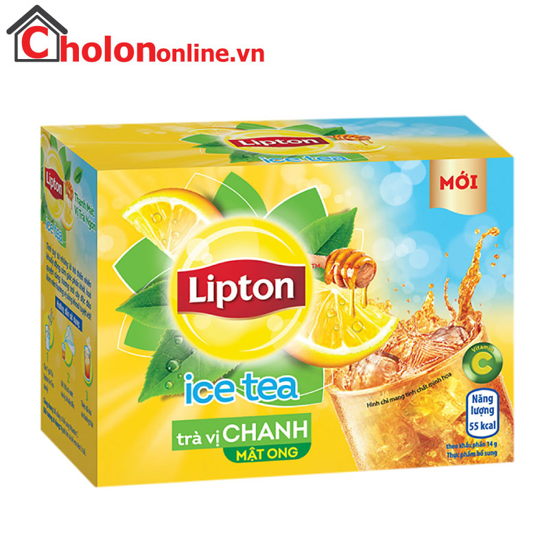 Trà Lipton ice tea chanh 224g