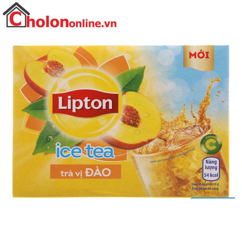Trà Lipton ice tea đào 224g