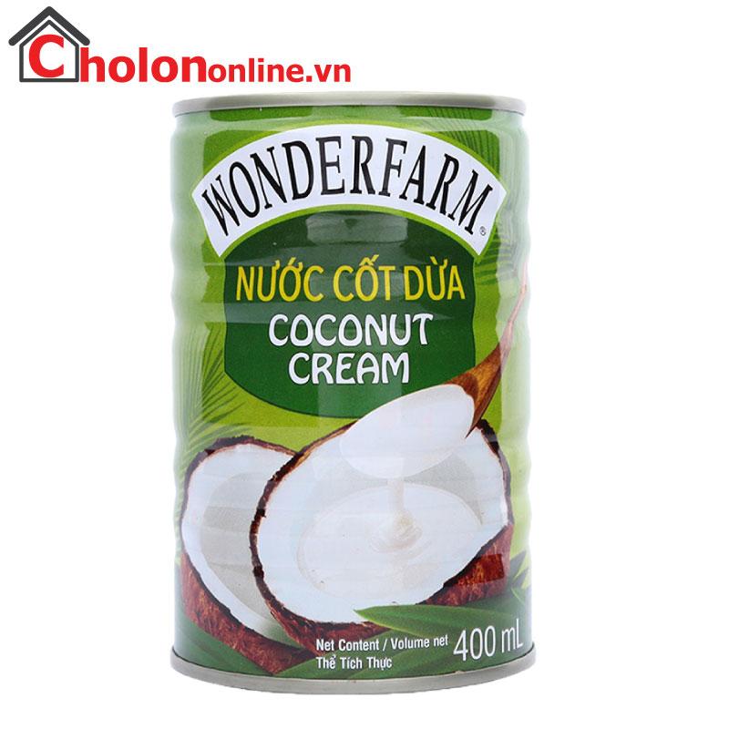 Nước cốt dừa Wonderfarm 400ml