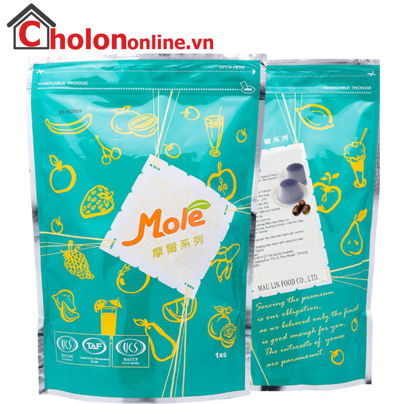 Pudding Mole Môn 1kg