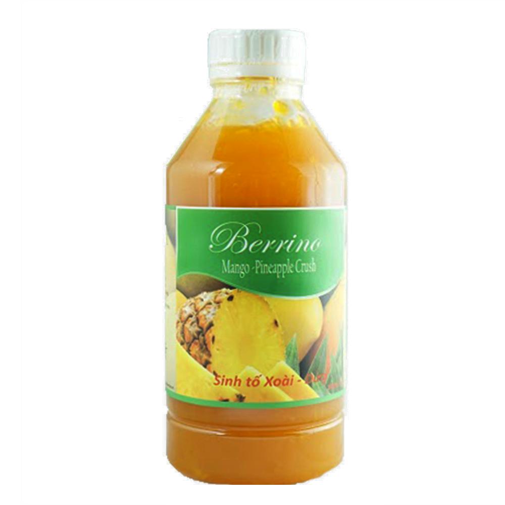 Sinh tố Berrino xoài - dứa 1lít