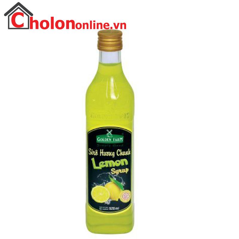 Sirô Golden Farm 520ml - Chanh