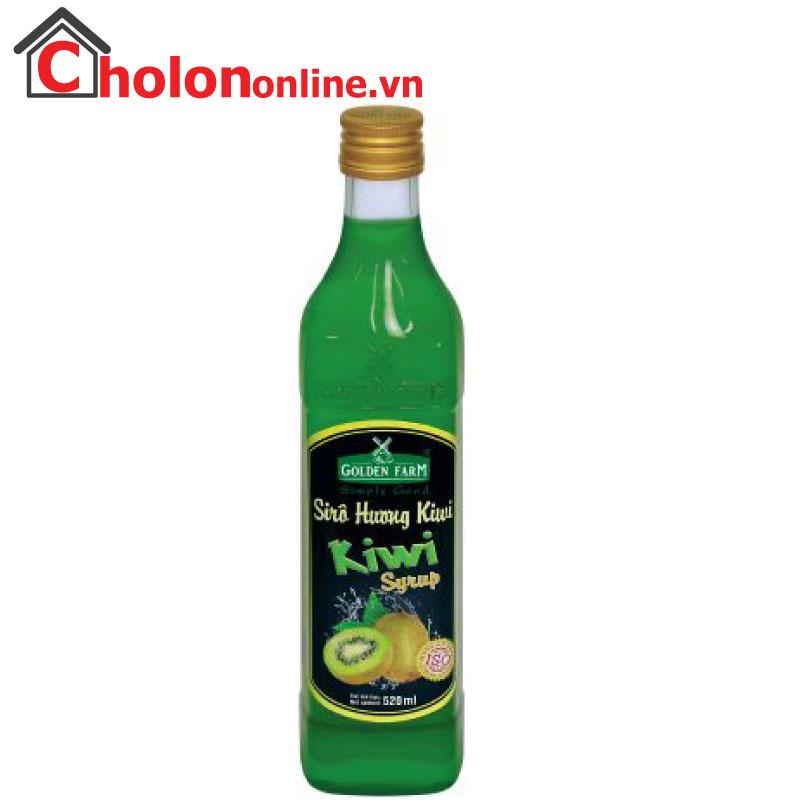 Sirô Golden Farm 520ml - kiwi