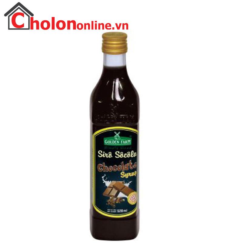 Sirô Golden Farm 520ml - socola
