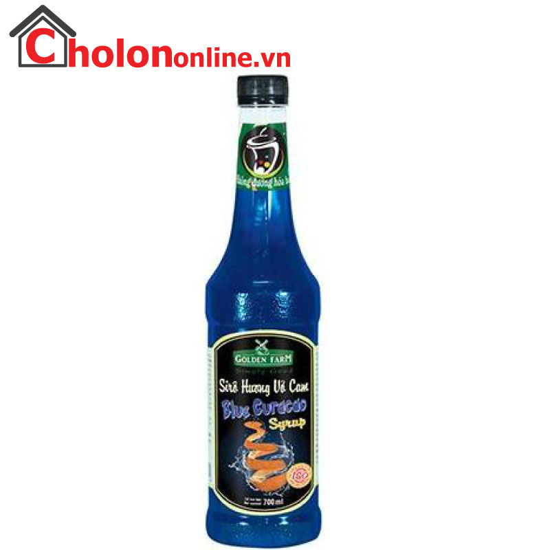 Sirô Golden Farm 700ml - blue curacao