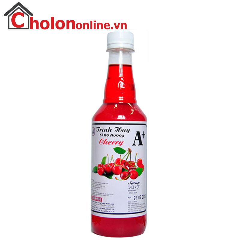 Sirô Hàng Huy A+ 650g - cherry