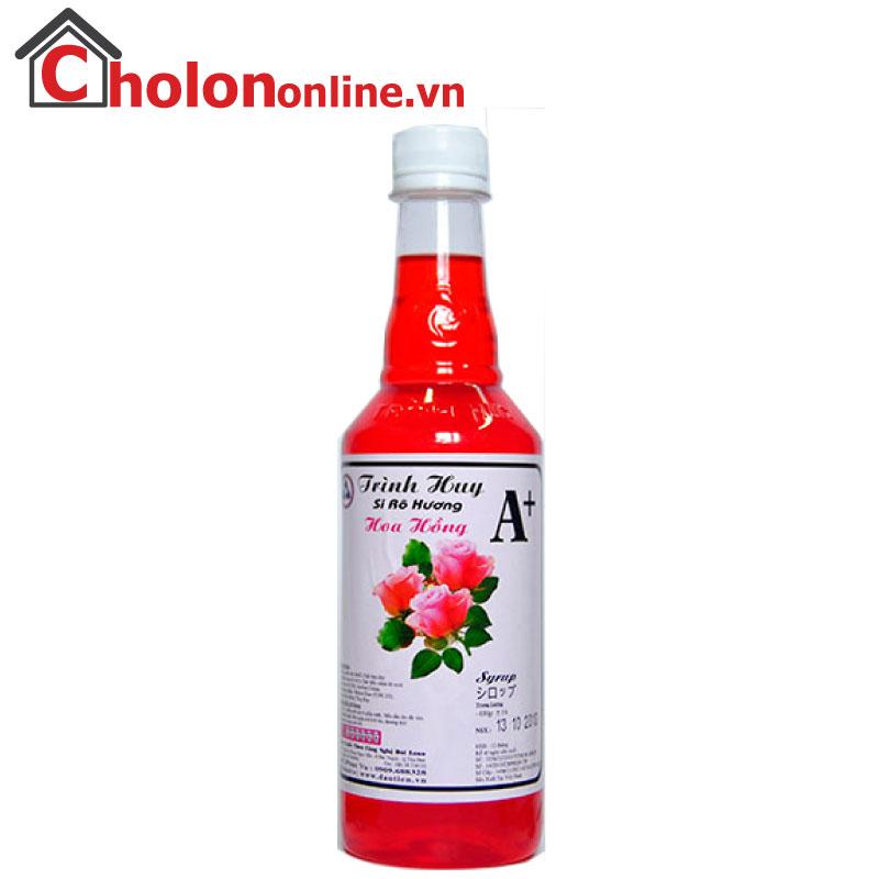 Sirô Hàng Huy A+ 650g - hoa hồng