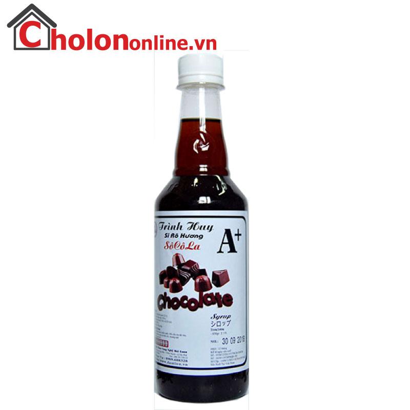 Sirô Hàng Huy A+ 650g - socola