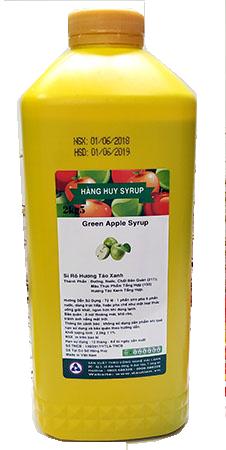 Siro Hàng Huy Hoàng kim 2,5kg - táo xanh