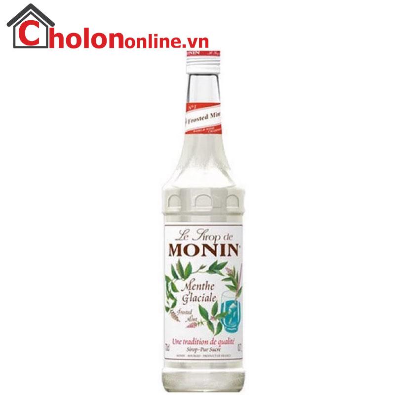 Sirô Monin (Pháp) 700ml - Bạc hà trắng