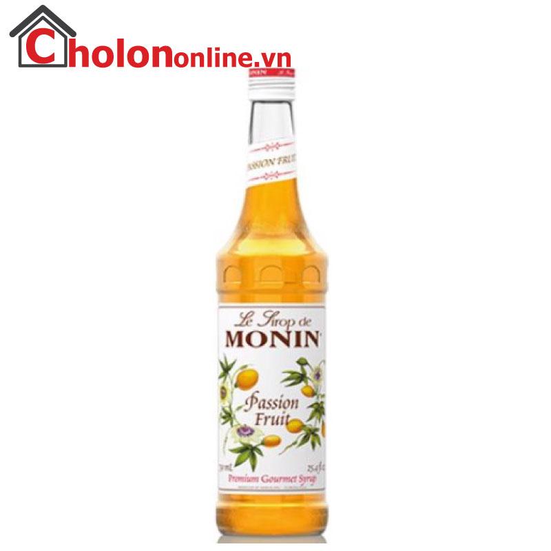 Sirô Monin (Pháp) 700ml - Chanh dây