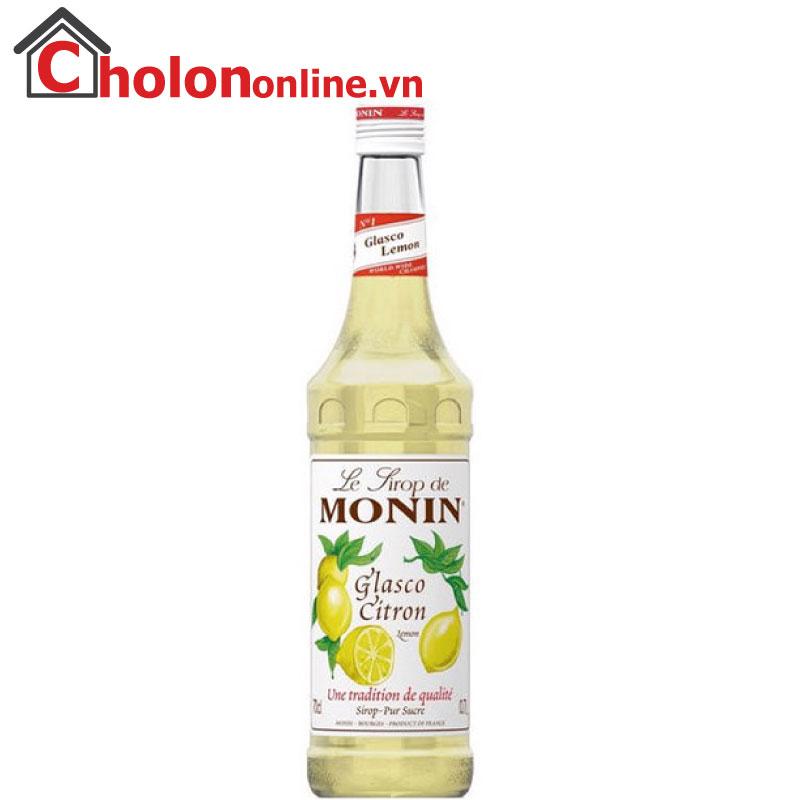 Sirô Monin (Pháp) 700ml - Chanh