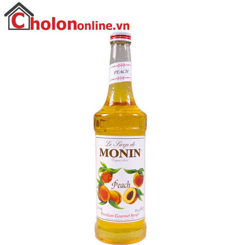 Sirô Monin (Pháp) 700ml - Đào