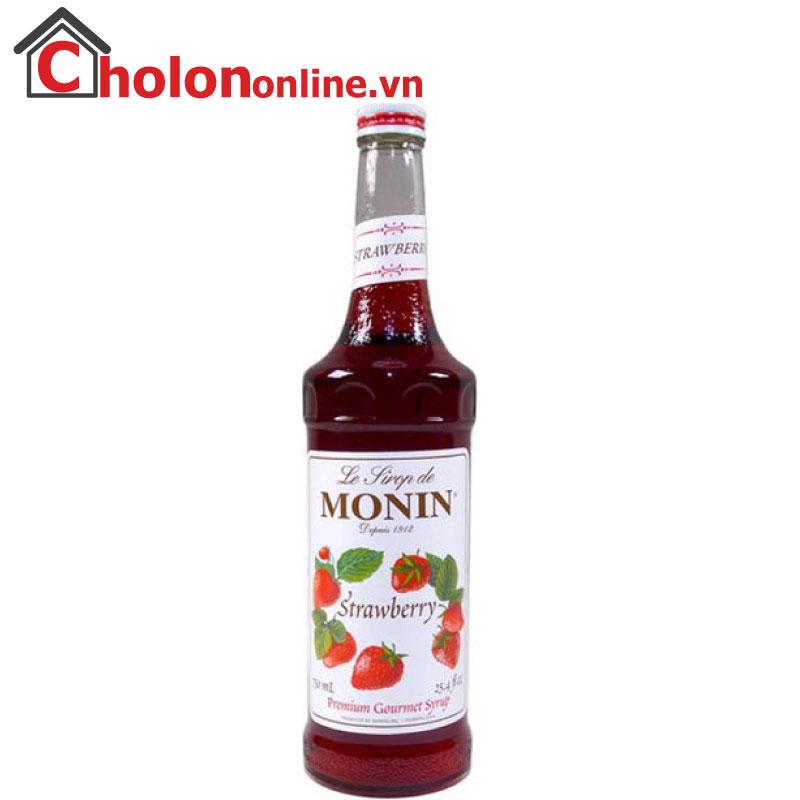 Sirô Monin (Pháp) 700ml - Dâu