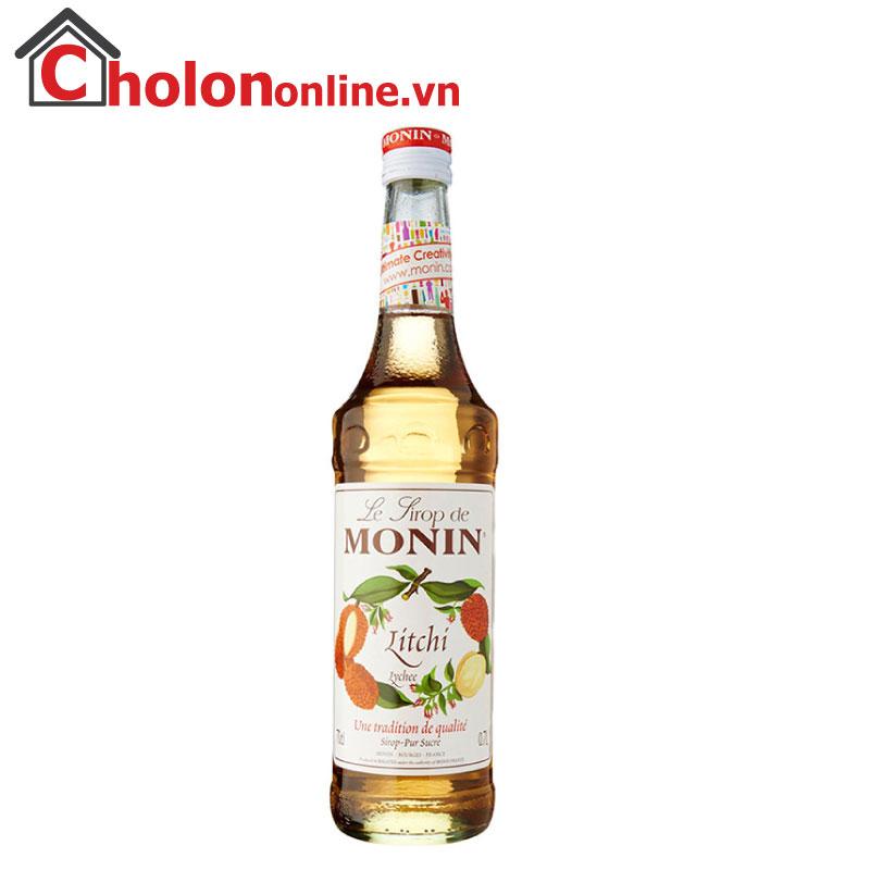 Sirô Monin (Pháp) 700ml - Vải