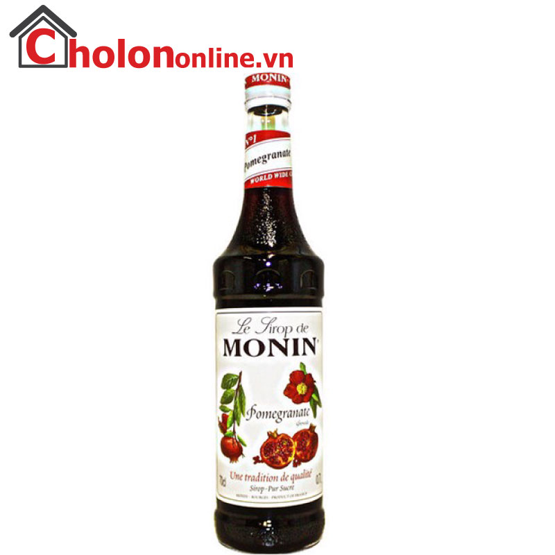 Sirô Monin (Pháp) 700ml - Lựu