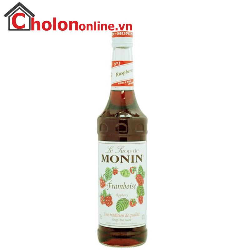 Sirô Monin (Pháp) 700ml - Phúc bồn tử
