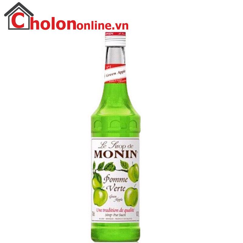 Sirô Monin (Pháp) 700ml - táo xanh
