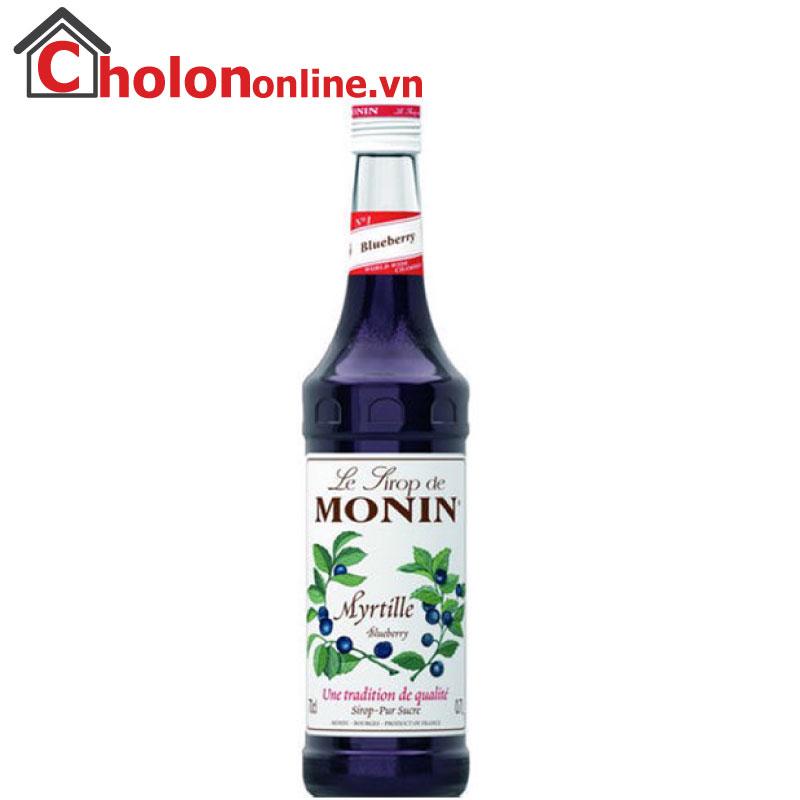 Sirô Monin (Pháp) 700ml - Việt quất