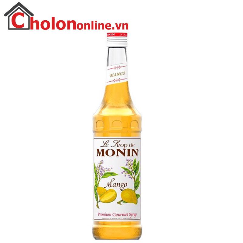 Sirô Monin (Pháp) 700ml - Xoài