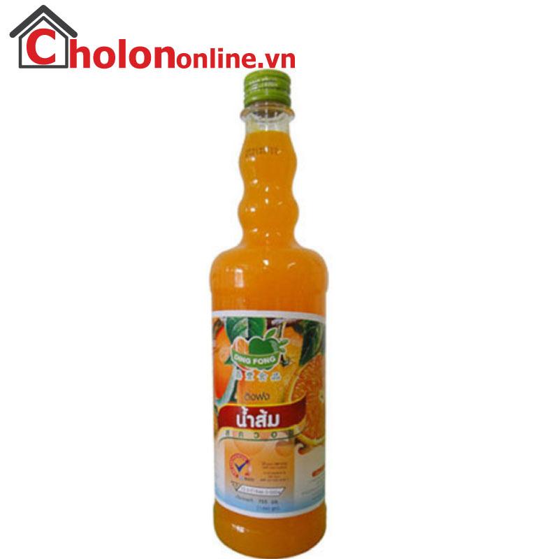 Sirô Thái Dingfong 755ml - cam