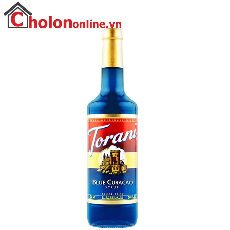 Sirô Torani (Mỹ) 750ml - Vỏ cam (blue curacao)