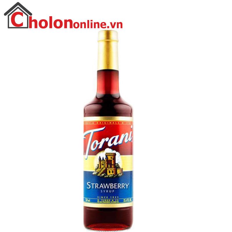 Sirô Torani (Mỹ) 750ml - Dâu