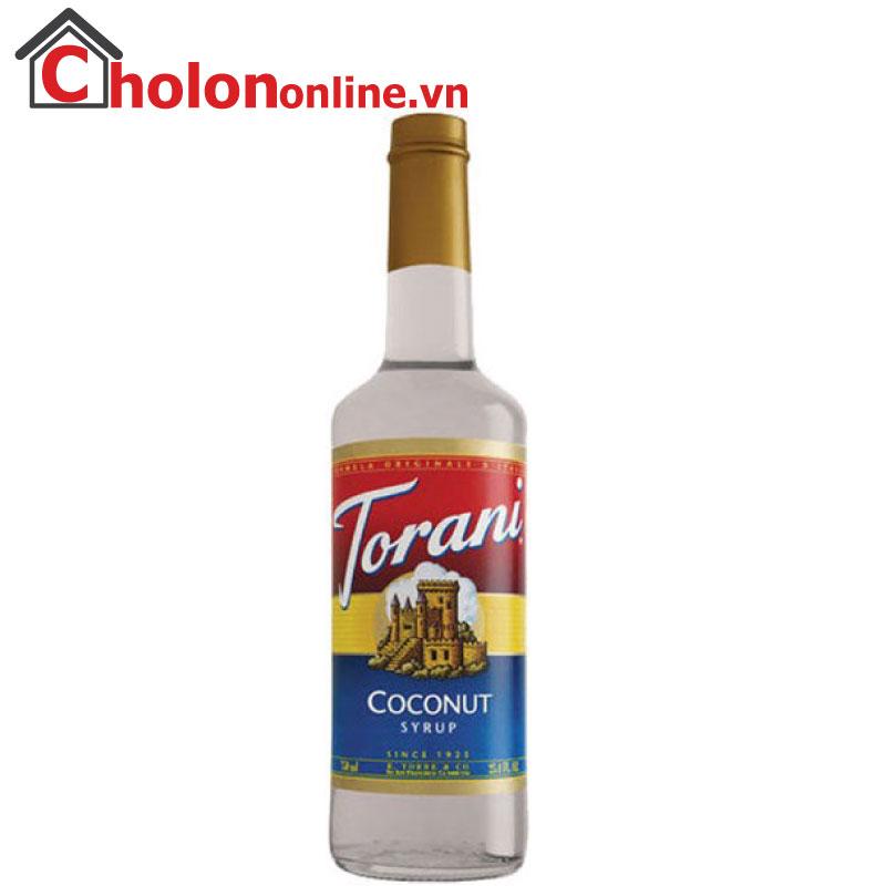 Sirô Torani (Mỹ) 750ml - Dừa