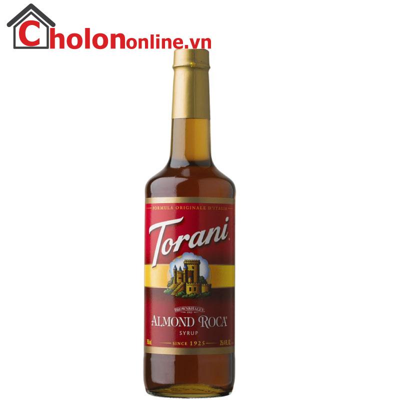 Sirô Torani (Mỹ) 750ml - Hạnh nhân
