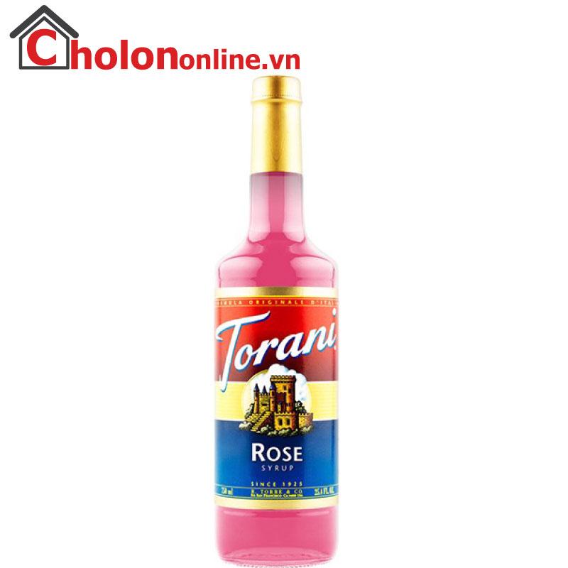 Sirô Torani (Mỹ) 750ml - hoa hồng