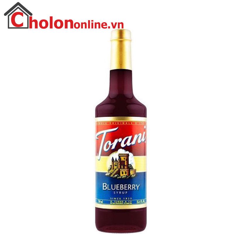 Sirô Torani (Mỹ) 750ml - Việt quất