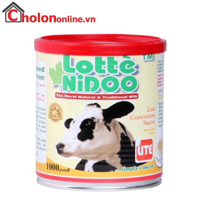 Sữa đặc có đường Lotte Nidoo Malaysia 1kg