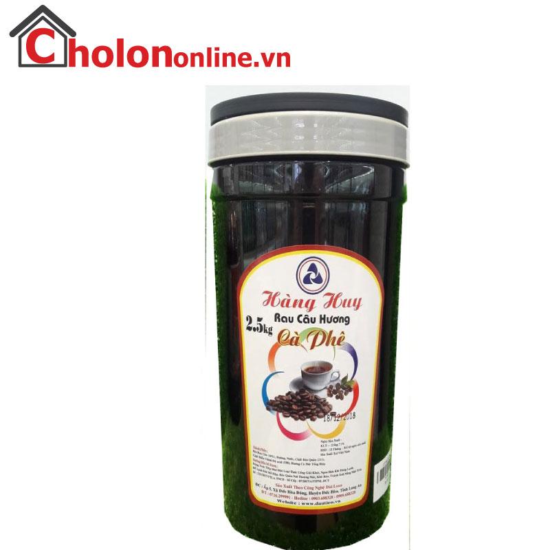 Thạch rau câu trái cây hạt Hàng Huy 2.5Kg - Cà phê
