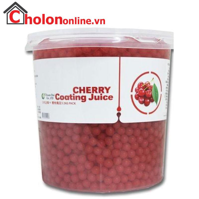 Thạch Thuỷ tinh Đài Loan Chuandai cherry 1kg