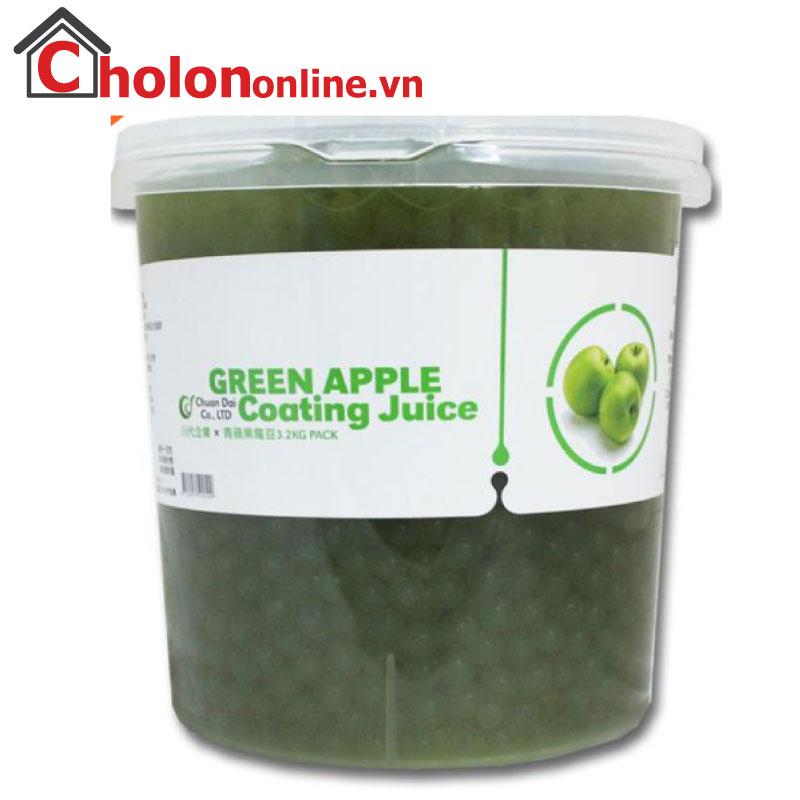 Thạch Thuỷ tinh Đài Loan Chuandai táo xanh 3.2kg