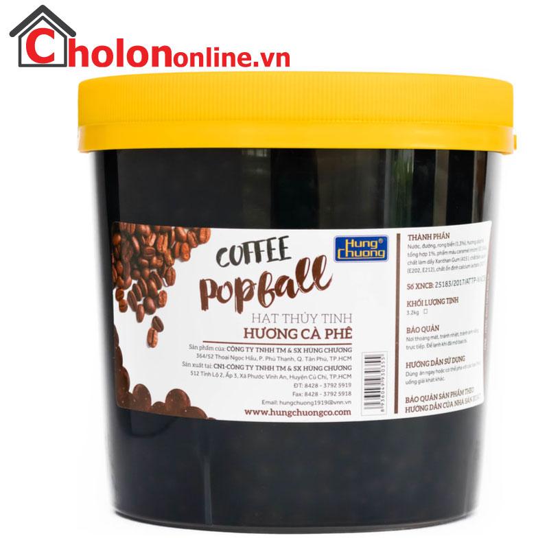 Thạch thuỷ tinh Hùng Chương cà phê 3.2kg