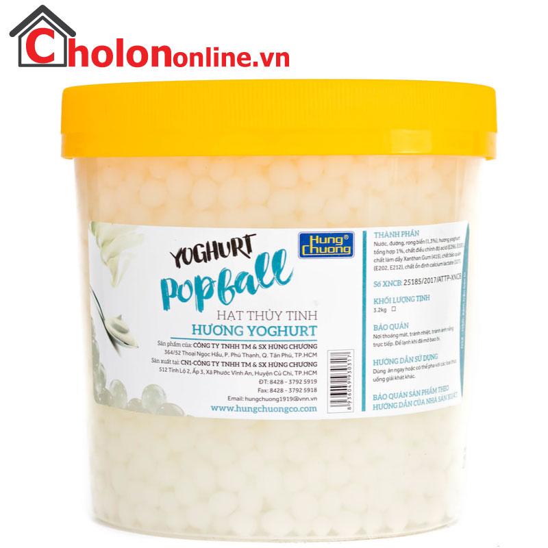 Thạch thuỷ tinh Hùng Chương Yoghurt 3.2kg