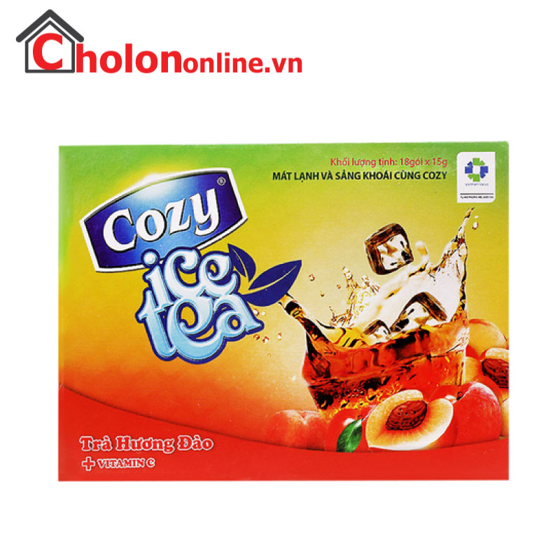 Trà Cozy ice tea đào 270g
