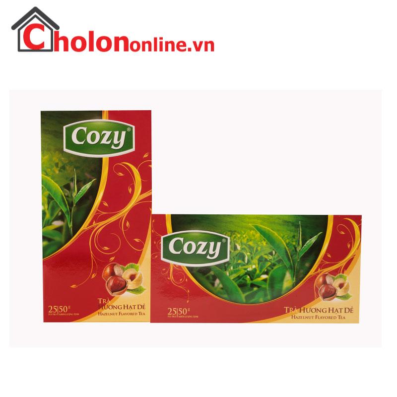 Trà Cozy hạt dẻ túi lọc 25 gói