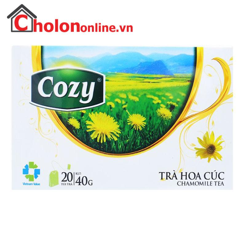 Trà Cozy hoa cúc túi lọc 20 gói
