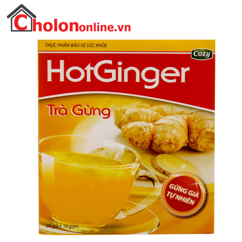 Trà gừng Cozy Hot Ginger 200g
