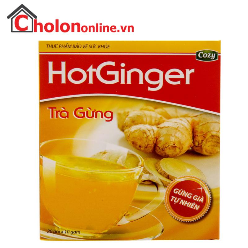 Trà gừng Cozy Hot Ginger 200g