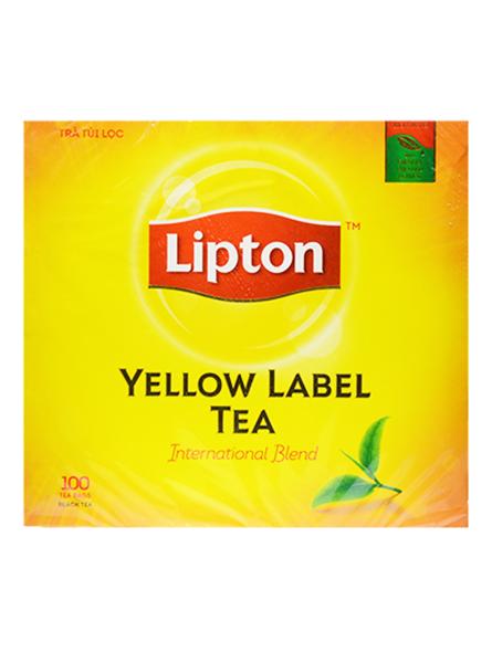 Trà Lipton nhãn vàng 100 gói