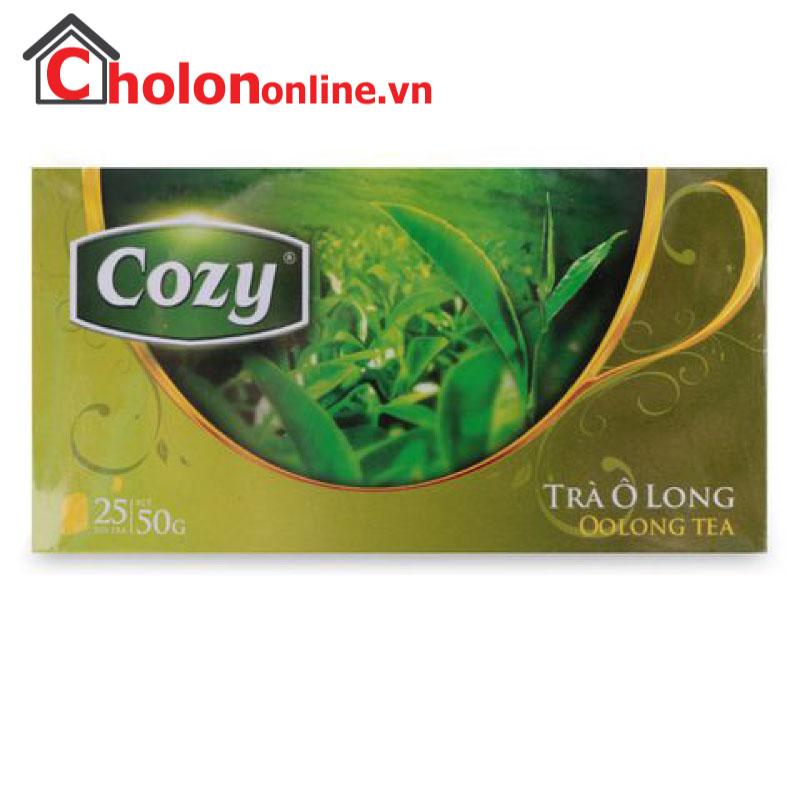 Trà Cozy Olong túi lọc 25 gói