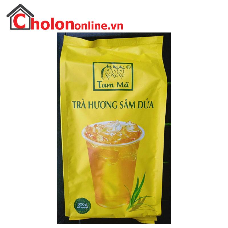 Trà Cozy Tam Mã hương sâm dứa 500g