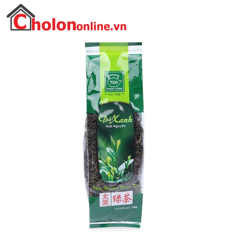 Trà xanh Thái Nguyên Phúc Long 100g