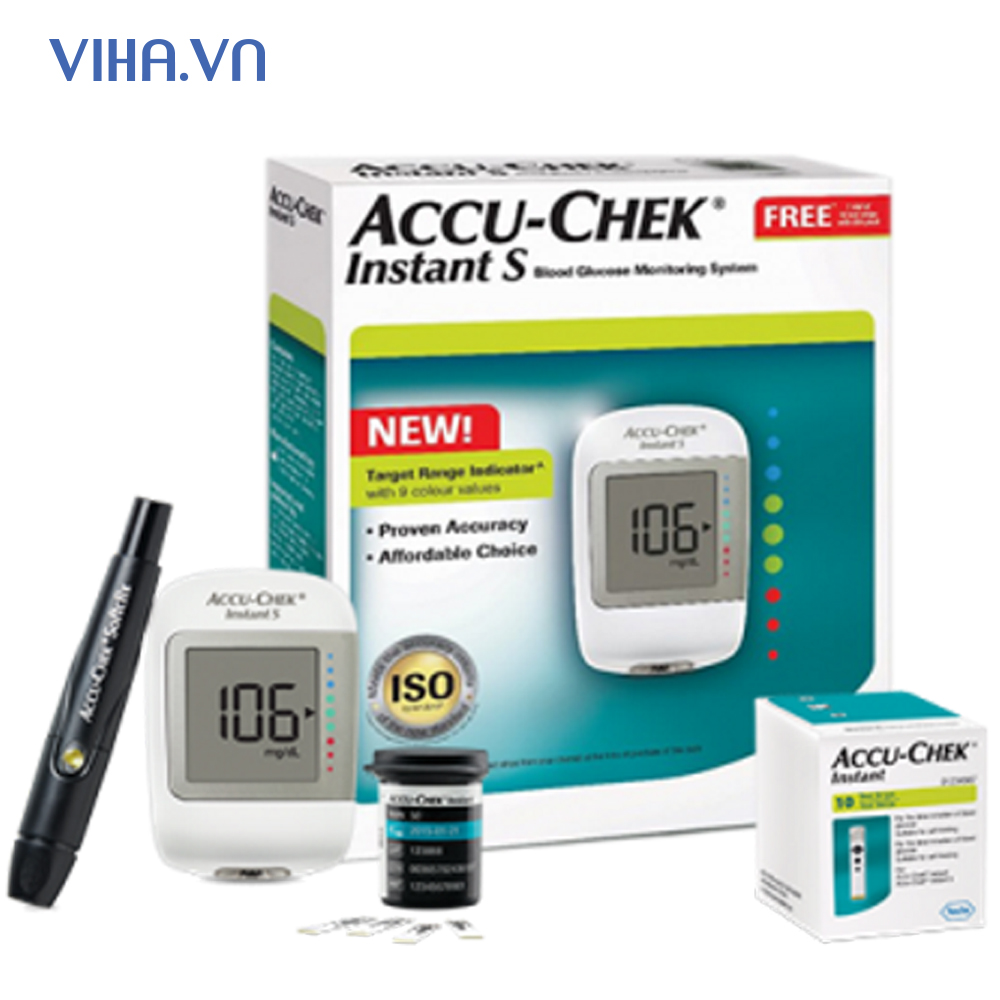 may-do-duong-huyet- Accu-Chek-Instant