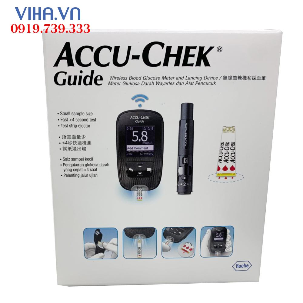 may-do-duong-huyet-Accu-Chek Guide