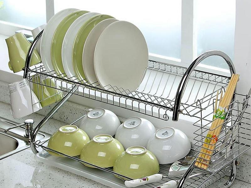 các loại phụ kiện tủ bếp inox