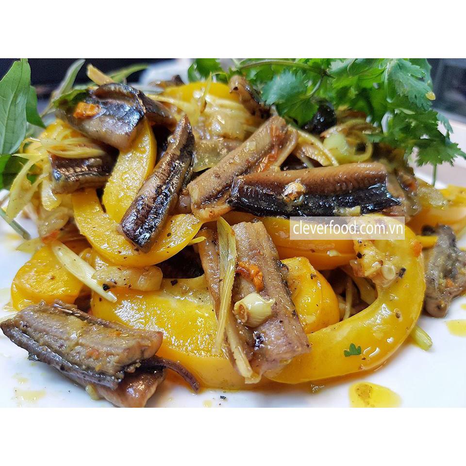Cách làm món Lươn xào sả ớt
